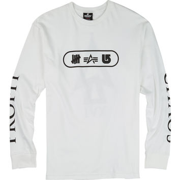 UNDEFEATED x Alpha Industries x Burton Chaos Long Sleeve T Shirt - Burton Snowboards