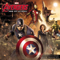 2016 Avengers Age Of Ultron Wall Calendar