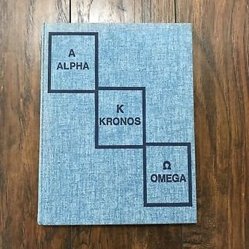 Vintage 1977 70s Alpha Kronos Omega Marin Catholic High School Wildcats Yearbook