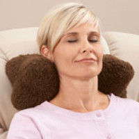 Sherpa Neck Cradle Pillow by OakRidge Comforts