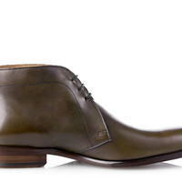SHOEPASSION.com – Goodyear-welted George Boot in olive