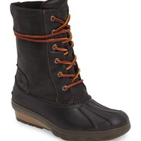 Sperry Saltwater Wedge Reeve Waterproof Boot (Women) | Nordstrom