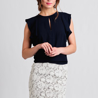 Park Ave Lace Skirt
