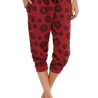 Supernatural Symbols Girls Pajama Pants