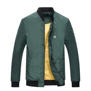 Fred Perry Cardigan Jacket Coat-1