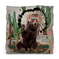 Ahanu Throw Pillow