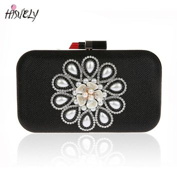 2017 Fashion Women Handbags Metal bling Shoulder Bags Ladies Print Day Clutch Party Evening Bags WY135
