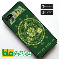 The Legend of Zelda Hyrule Historia Iphone 5C Plastic Case