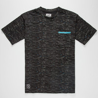 Neff Neo Neon Mens Pocket Tee Black  In Sizes