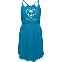 A Navy Girlfriend: Custom Junior Fit District Strappy Dress - Customized Girl