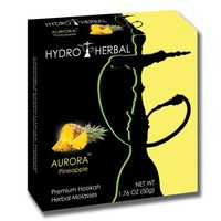 Hydro Herbal 50g Pineapple Hookah Shisha Tobacco Free Molasses