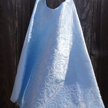 Custom Frozen Elsa Cape - Handmade and Reversible
