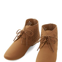 ModCloth Rustic Here I Yam! Bootie