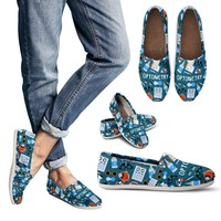 Optometry Themed Casual Shoes