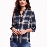 Old Navy Flannel Two Pocket Shirt