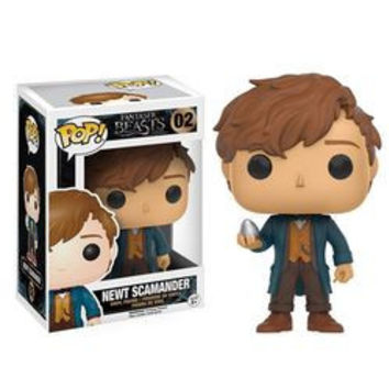 POP! FANTASTIC BEASTS AND WHERE TO FIND THEM 02 - NEWT SCAMANDER (WITH EGG)
