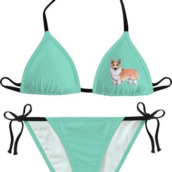 Welsh corgi dog Bikini