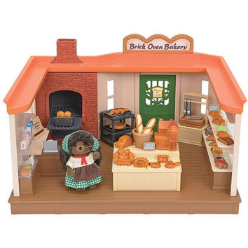 Calico Critters Brick Oven Bakery Playset