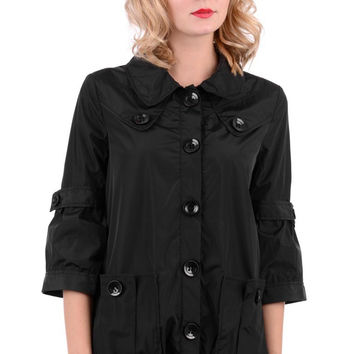 3/4 Length Sleeve Black Mac