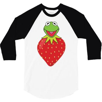 Kermit Strawberry 3/4 Sleeve Shirt