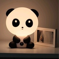 FREE SHIPPING - Cute Cartoon Baby Kungfu Panda Night Light Lamp Dog Rabbit Bear