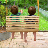 Rope tree swing for two / toddlers / children / twins