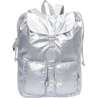 Kipling Luggage Raychel Backpack (One size, Silver Metallic)
