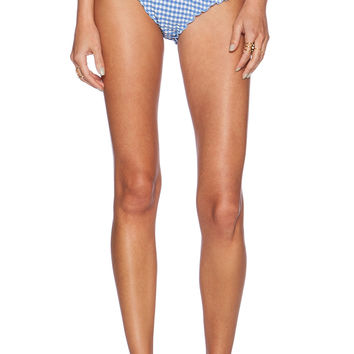 Tularosa Made You Look Bottom in Blue & White Gingham