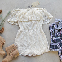 Juniper Lace Romper