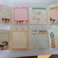 Tsum tsum memo set (please look in description for availability )