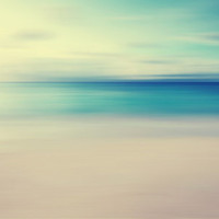 Beach Art Print by Ally Coxon | Society6