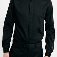 Men's Topman Slim Fit Black Tuxedo Dress