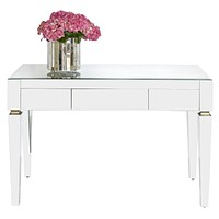 Worlds Away Jacklyn Mirrored Desk
