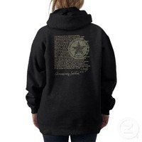 Army Wife Oath Hooded Pullovers from Zazzle.com