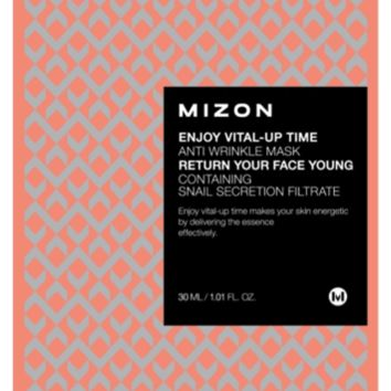 Enjoy Vital-Up Time - Anti-Wrinkle Mask