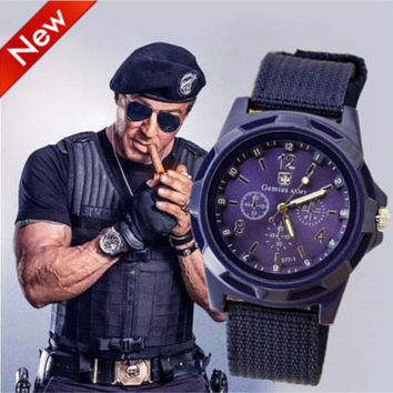 2015 mens watches Luxury Analog SWISS ARMY wrist watch fashion TRENDY sports MILITARY STYLE for mens watch Geneva watches cheap watch