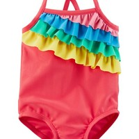 Carter's Rainbow Swimsuit