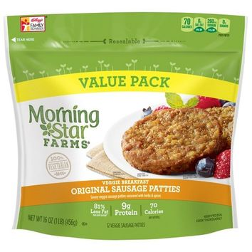 MorningStar Farms Original Sausage Patties - 12ct