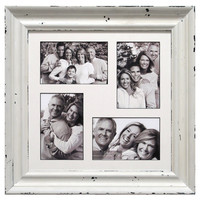 12 X 12-in Whitewash Wood Collage Frame