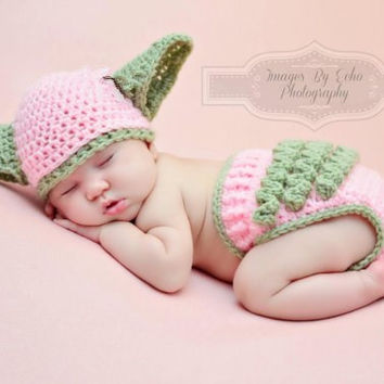 Baby Yoda Hat & Diaper Cover SET Star Wars