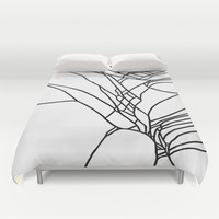 Crack Duvet Cover by Project M