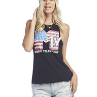 MTV™ Braided Back Tank | Wet Seal