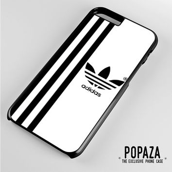 Adidas strips White iPhone 6 Plus Case Cover