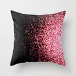 infinity in red Throw Pillow by Marianna Tankelevich | Society6