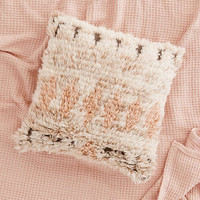 Neutral Boucherouite Wool Pillow - Urban Outfitters