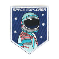 Space Explorer Spaceman NASA Iron On Embroidered Patch