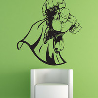 Vinyl Wall Decal Sticker Superhero #1310
