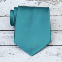 Dark Teal Necktie