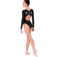 Adult Long Sleeve X-Back Leotard