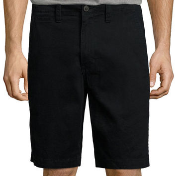 Arizona Flat Front Chino Shorts - JCPenney